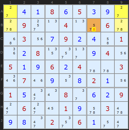 Unique Rectangle Figure 5